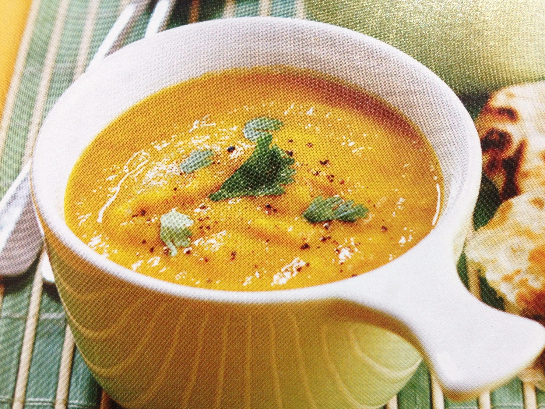 Roasted Carrot & Parsnip Winter Soup Recipe