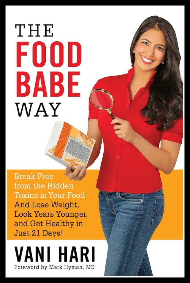 the food babe way book