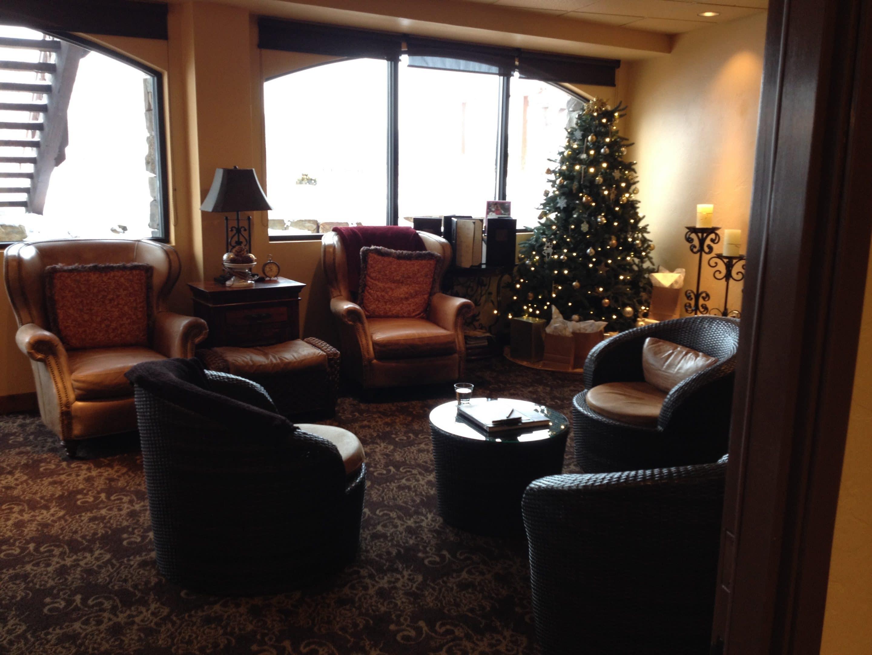 Whitefish Lodge Spa Comfy Waiting Room Montana