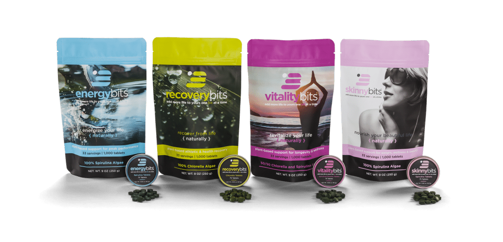 energybits spirulina algae tablets nutrition supplement